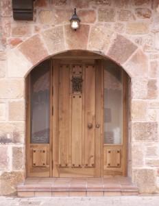 Puerta Casa Rural el Sastre